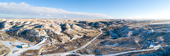 Montana Panorama (wicks_photo) Tags: billings drone hills landscape montana panorama snow winter