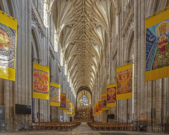 Winchester Cathedral, Hampshire (JackPeasePhotography) Tags: winchester cathedral nave gothic vaulting abbey minster hampshire 2019 nikon d7200