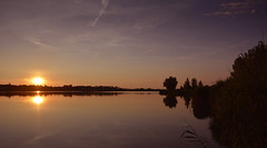 Wonderful sunset (The Cuman) Tags: nikon nikond7100 sigma sigma1770mmf2 84dcmacrooshsm werner lake sunset merenye colors trees nature