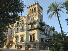 Hotel Alfonso XIII, Seville, Spain (geoff-inOz) Tags: hotelalfonsoxiii heritage building historic andalusia architecture spain seville hotel