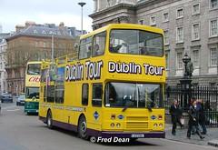 Dualway (91D10100). (Fred Dean Jnr) Tags: april2005 dublin leyland olympian alexander r dualway 91d10100 collegegreendublin