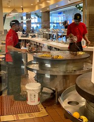 """The Wok Cookers"" (bradhodges09) Tags: restaurants wokcooking wok peopleworking people food asianfood mall menworking men occupations mongolianbbq chefs cooks cooking cook"