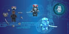 Minifigure Black Manta Upgrade KIT (Tuminio) Tags: lego custom minifigure dc superheroes black manta aquaman upgrade kit