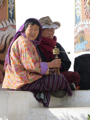 06 02 Bhutan - Thimpu - Memorial Chorten 013