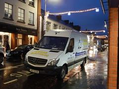 Merry Christmas & Happy New Year! (Jonny1312) Tags: lorry van ballymena mercedes mercedessprinter electrical ballymoney christmaslights christmas