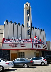 Nile Theatre, Bakersfield, CA (Robby Virus) Tags: bakersfield california ca hingepoint church nile theatre theater marquee sign signage