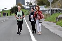 Behobia Donostia 2018. Korrikalariak Gaintxurizketa igotzen