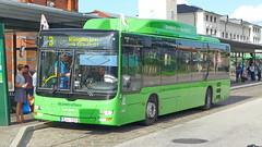 MAN Lion's City Skanetrafiken in Malmö 2.9.2018 3222 (orangevolvobusdriver4u) Tags: 2018 archiv2018 schweden sweden sverige malmö malmoe malmo bus autobus manlionscity man lionscity skanetrafiken
