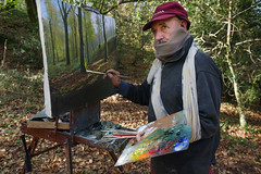 _FLX3967p (Félix Pérez Antón) Tags: pentax k3ii cantabria parquenaturalsajabesaya ucieda pintor retratos naturaleza bosque otoño