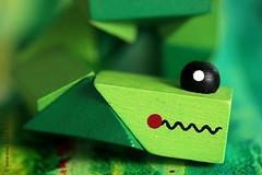 GREEN SMILE (Anne-Miek Bibbe) Tags: macromondaycandidate macromondays macro happymacromonday groen green grün verde vert canoneos700d canoneosrebelt5idslr annemiekbibbe bibbe nederland 2018 snake slang hout wood