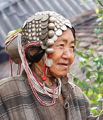 Woman in a remote mountain village near Kengtung - Myanmar (lotusblancphotography) Tags: asia asie myanmar burma birmanie people gens personnes woman femme kengtung portrait