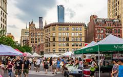 Union Square Greenmarket (Eridony (Instagram: eridony_prime)) Tags: newyorkcity newyorkcounty newyork nyc manhattan midtown unionsquare park publicsquare market outdoormarket farmersmarket