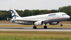 Airbus A320-232 SX-DVW Aegean Airlines (William Musculus) Tags: airport spotting plane airplane aviation basel mulhouse freiburg bsl mlh eap euroairport lfsb aeroport sxdvw aegean airlines airbus a320232 aee a3 a320200