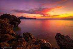 Island Sunset (Frӓncis) Tags: sunset romblon fflomair canon5dmk4 seascape colors rrs tablasisland coastal