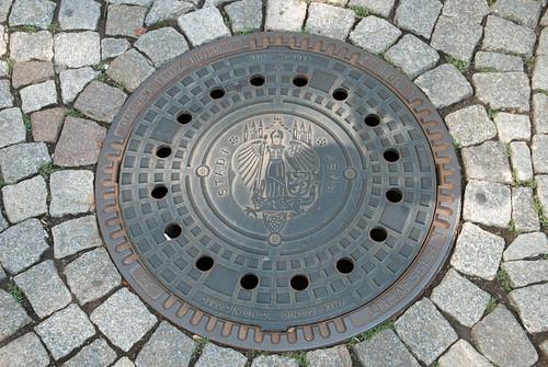 Manhole cover, Jena
