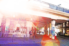 Dresden (kirstiecat) Tags: dresden germany urban cinematic dream dreamy colors flare streetart street canon people strangers light colours europe graffiti lensflare cinematiclensflare