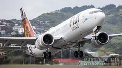 DQ-FAB (tynophotography) Tags: fiji airways boeing 737 max 8 dqfab 737m 73m8 73m wellington wlg nzwn new zealand kiwi