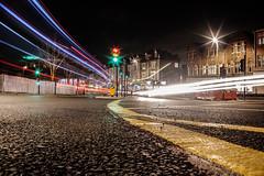 night streaks (explored 11.01.19) (karina Novakova) Tags: longexposure night colour road travel starburst building buildings leadinglines leading light inexplore explored