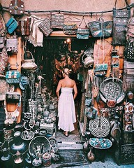 Aladdin's Cave ✧✧⠀ ⠀ ⠀ Trying to work out how I can fit all these treasures in my suitcase💼... , my bag🎒 is always overweight and there's literally no space! Granted, we are traveling for a really long time but still, it'd be nice (tourmorocco) Tags: instagram travel morocco beautiful landscape