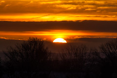 sunrise / @ 300 mm / 2019-01-11 (astrofreak81) Tags: clouds sunrise sun wolken sonnenaufgang sonne sky himmel heaven light dawn redsky morning abend red orange dresden 20190111 astrofreak81 sylviomüller sylvio müller