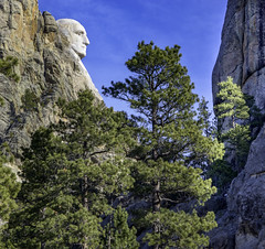 Mt Rushmore Profile (GD Roth) Tags: blackhills mtrushmore sd southdakota southdokata