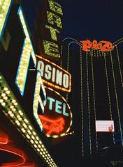 Las Vegas on CineStill (seansdi77) Tags: fremont street las vegas cinestill film ishootfilm neon casino nevada