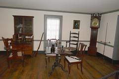 A Study Room (en tee gee) Tags: desk chairs table door wall wainscoting grandfatherclock raynhamhall