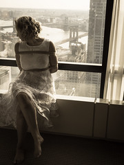 New-York - 2 (Cute Succube) Tags: française femme france french fenêtre hotel shibari soumission corde woman wife newyork wedding bride marié mariage rope submission coquine
