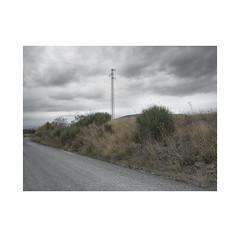 Energy for the road... ( Navarra ) (José Luis Cosme Giral) Tags: energyfortheroad minimalism topography landscape road bushs grass ricohgr navarra graysky