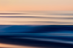 Sunset, Pacific Ocean, Abstract, Long exposure (Hanna Tor) Tags: abstract art stripes waves sunset nature water beach 2dwf longexposure