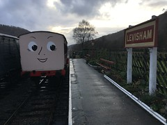 1111 is happy to leave Levisham and go for restoration 20Nov18