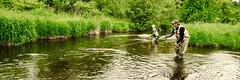 Father And Daughter Reunion: The Tomorrow River (J Henry G) Tags: flyfishing fishing troutfishing tomorrowriver cwtudanharmoniiiflyfishingschool