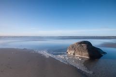 Morning calm (jillyspoon) Tags: rock stone calm calmmorning light scotland scotlandssecret dumfriesandgalloway beach coast coastal coastculture canon70d canon onerock sea water wigtownshire monreith machars sigma1020mm sigma1020