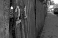 Crooked 21 (PositiveAboutNegatives) Tags: nikon slr vintagecamera nikonf eyelevel plainprism 40mm cosinavoightlander cv40mmf2ultron film analog bw blackandwhitefilm foma fomapan fomapan200 rodinal coolscan lakeworth florida