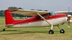 N11118 - Cessna 180F       Schaffen Diest (V77 RFC) Tags: august2010