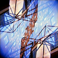 [La Mia Città] Via Mecenate (Urca) Tags: holgalomo201810240001 milano italia 2018 viamecenate holga lomo doppiaesposizione doubleexposure 120 square medium multi film filmisnotdead analog analogico