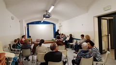 """07.10.2018 E' iniziato il corso lettori interparrocchiale con don Luca • <a style=""""font-size:0.8em;"""" href=""""http://www.flickr.com/photos/82334474@N06/46061213641/"""" target=""""_blank"""">View on Flickr</a>"""
