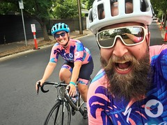 Matchy Matchy (lukemarkof) Tags: style happy depth bicycle bike challenging interest custom fun cycle built australia radelaide holiday funky shadow cycling classic play travel tdu black adelaide tourdownunder teamyoungmarkof exposure special bikerace exotic dark view