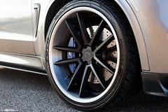 BMW X5M - F431 Matte Black (AvantGardeWheels) Tags: bmw x5m silver avant garde wheel avantgarde rims rim s agwheels f431 matte black f85 msport slammed dumped stanced stance bespoke level custom finishing paint painted 22x10 22x115 staggered gallery x5 vehicle car outdoor