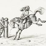 Taming a horse by Jean Bernard (1775-1883). Original from The Rijksmuseum. Digitally enhanced by rawpixel. thumbnail