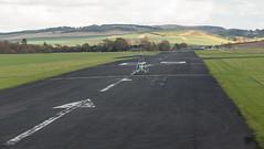 G-CCXZ Quik, Scone (wwshack) Tags: egpt flexwing mainair psl perth perthairport perthshire quik scone sconeairport scotland microlight runway gccxz