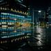Rain reflection, Dai-Nagoya Building, Nagoya