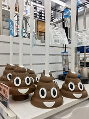 Poop Plungers (cowyeow) Tags: design decor giftware homedecor atlanta georgia usa sign odd funny poop shit crap toilet weird cute stupid bathroom brown doodoo toys gift tacky