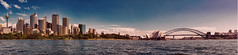 Sydney Panorama (Miradortigre) Tags: australia sydney bahia bay opera bridge puente harbour panorama widescreen panoramic ciudad skyline city cite