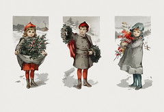 Vintage Christmas card design with children (Free Public Domain Illustrations by rawpixel) Tags: aom background pdproject20 pdproject20batch44 pdproject22 photofeedbackground1 shootphotofeed pdproject20batch44x antique art artwork beige boy card child childhood children christmas christmascard copyspace december design display drawing girl historic historical history holly illustration jolly kid kids littleboy littlegirl merry merrychristmas name outdoors painting paper people placard poster print publicdomain retro season seasonal snow snowy tradition traditional vintage wall wallpaper white winter xmas