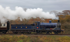Caledonian Colours (Treflyn) Tags: panned shot pan caledonian railways 812 class 060 number 828 steaming steam autumn fall colours boness kinneil railway insearchofsteam srps scottish preservation society photo charter