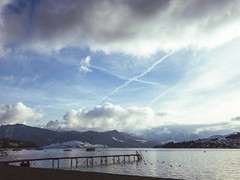Friday afternoon in Luzern (stefan.bueti) Tags: lake cold snow mountain luzern winter switzerland