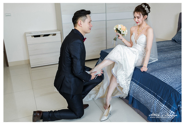 [高雄婚攝] 哲諭 & 郁倫 結婚側拍 @自宅