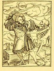 This image is taken from Page 55 of Der Todtentanz von H. Holbein, nach dem Exemplare der ersten Ausgabe im Kgl. Kupferstich-Cabinet zu Berlin in Lichtdruck nachgebildet (Medical Heritage Library, Inc.) Tags: dance death rcplondon ukmhl medicalheritagelibrary europeanlibraries date1879 idb22651263