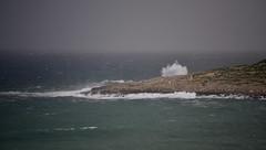 From our hotel room (D70) Tags: wind mediterranean sea creates surf malta rocks from hotel room salina maltamajjistral